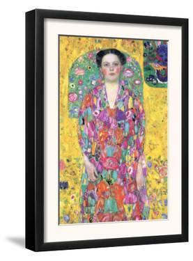 Portrait of Eugenia (M?) Primavesi by Gustav Klimt