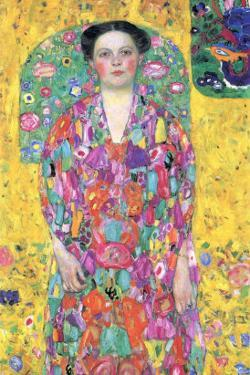Portrait of Eugenia (M?) Primavesi by Gustav Klimt