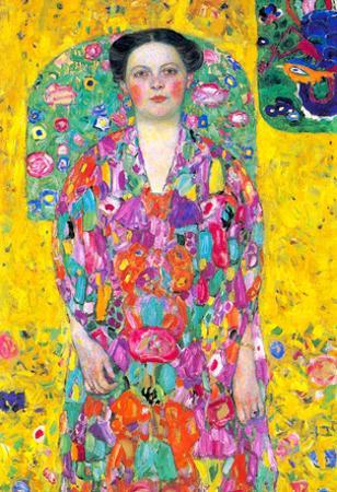 Gustav Klimt Portrait of Eugenia (Mäda) Primavesi Art Print Poster