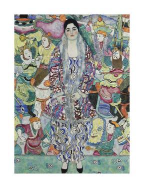 Portrait of Friedericke Maria Beer by Gustav Klimt