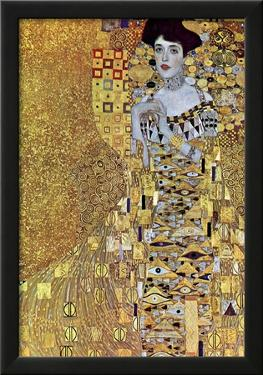 Gustav Klimt Portrait of Mrs Adele Bloch-Bauer 2 Art Print Poster