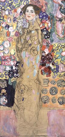 Portrait of Ria Munk III, 1917-1918