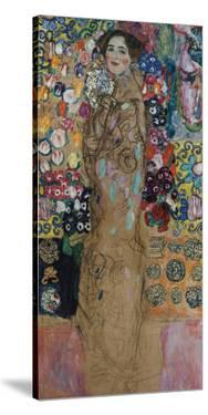 Portrait of Ria Munk III (Frauenbildnis) by Gustav Klimt