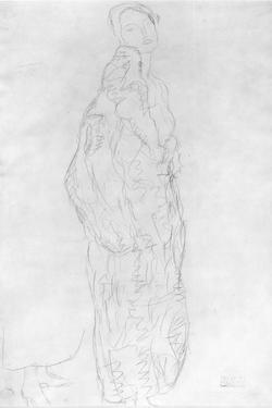 Robed Standing Lady, c.1916 by Gustav Klimt