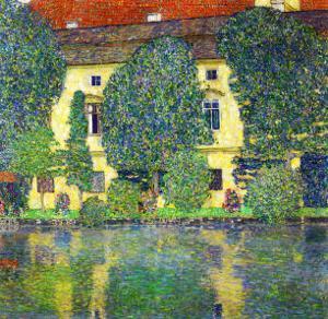 Schloss Kammer Am Attersee III (Wasserschloss), 1910 by Gustav Klimt