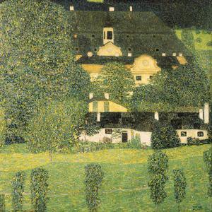 Schloss Kammer am Attersee by Gustav Klimt