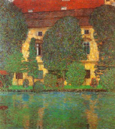Schloss Kammer at Attersee by Gustav Klimt