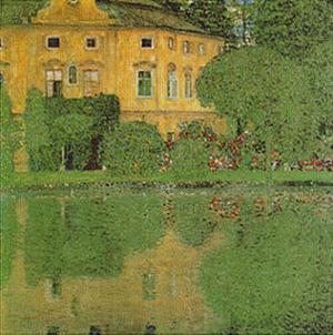 Scholoss Kammer on Attersee 2 by Gustav Klimt