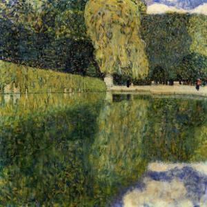 Schonbrunn Park by Gustav Klimt
