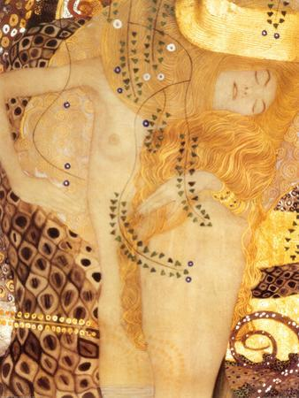 Sea Serpent, c.1907 by Gustav Klimt
