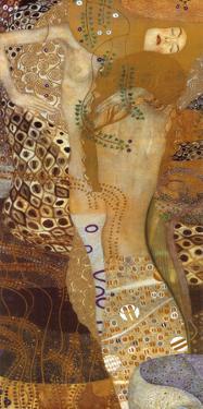 Sea Serpents II, c.1907 by Gustav Klimt