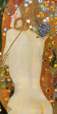 Sea Serpents IV, c.1907 by Gustav Klimt