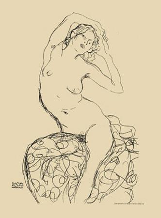 Seated Nude, c.1914-16