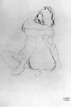 Seated Woman by Gustav Klimt