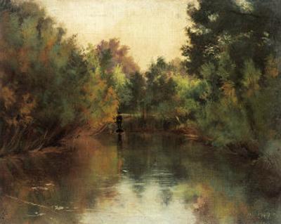 Secluded Pond by Gustav Klimt