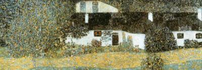 Shloss Kammer on Attersee by Gustav Klimt