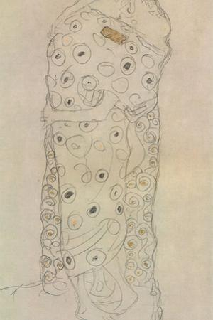 Standing Pair of Lovers 2 by Gustav Klimt