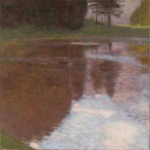 Still Pond, 1899 by Gustav Klimt