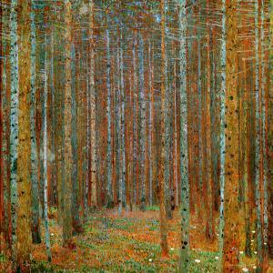 Tannenwald (Pine Forest), c.1902 by Gustav Klimt