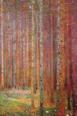 Tannenwald by Gustav Klimt
