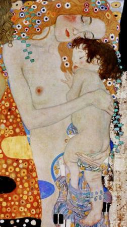 The 3 Ages of Woman (detail) by Gustav Klimt