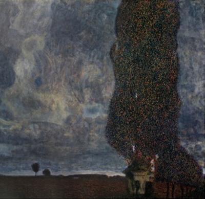 The Approaching Storm (The Large Poplar) by Gustav Klimt
