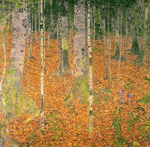 The Birch Wood by Gustav Klimt