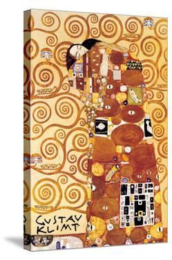 The Embrace by Gustav Klimt