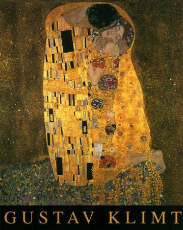Gustav Klimt (The Kiss) Art Poster Print