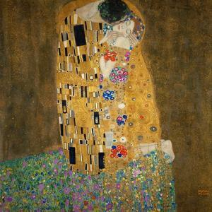 The Kiss, c.1907 by Gustav Klimt