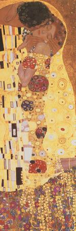 The Kiss (Der Kuss), detail by Gustav Klimt