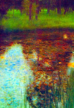 Gustav Klimt The Marsh Art Print Poster