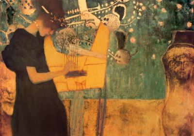 The Music by Gustav Klimt