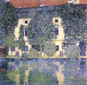 The Schloss Kammer on the Attersee, 1910 by Gustav Klimt