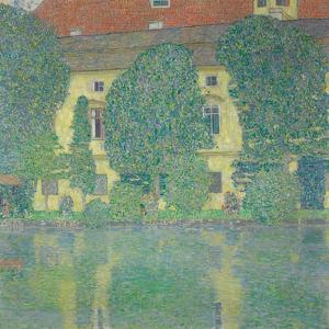 The Schlosskammer on the Attersee III, 1910 by Gustav Klimt