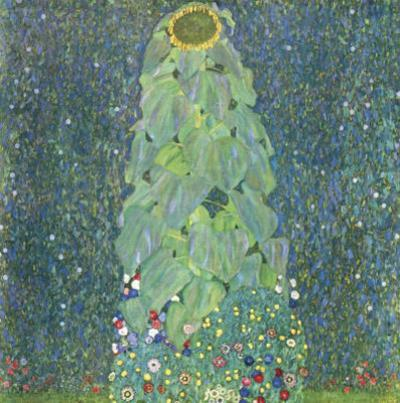 The Sunflower c.1906-1907 by Gustav Klimt