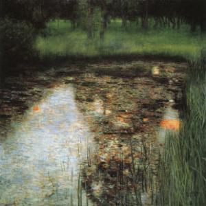 The Swamp by Gustav Klimt