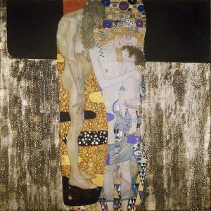 The Three Ages, 1905 by Gustav Klimt