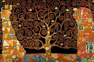 The Tree of Life (Interpretation) by Gustav Klimt