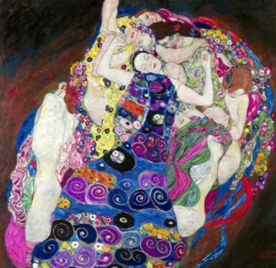 The Virgin (Die Jungfrau) by Gustav Klimt