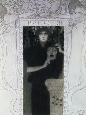 Tragedy, 1897 by Gustav Klimt