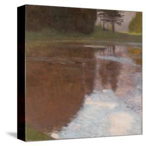 Tranquil Pond by Gustav Klimt