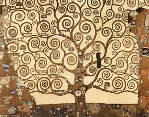 Gustav Klimt (Tree of Life) Art Print Poster