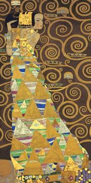 Tree of Life (Brown Variation) I by Gustav Klimt