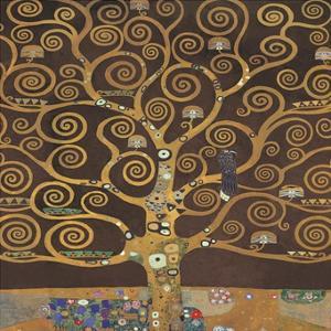 Tree of Life (Brown Variation) II by Gustav Klimt