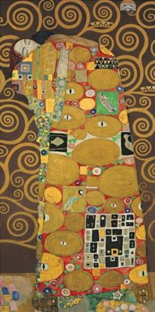Tree of Life (Brown Variation) III by Gustav Klimt