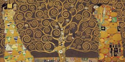 Tree of Life (Brown Variation) IV by Gustav Klimt