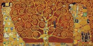 Tree of Life (red variation) by Gustav Klimt
