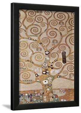 Gustav Klimt (Tree of Life, Stoclet Frieze, Detail) Art Poster Print