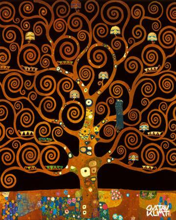 Under the Tree of Life by Gustav Klimt